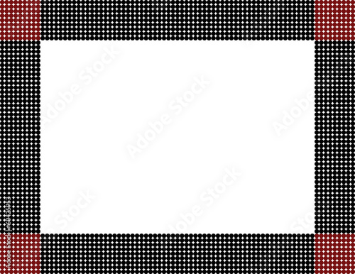 Black and Red Polka Dot Frame - Buy this stock illustration and ...