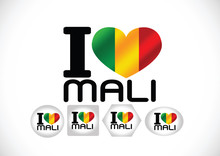 Mali Flag Themes Idea Design