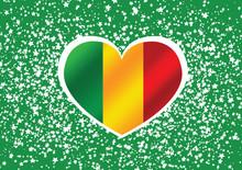 Mali Flag Themes Idea Design