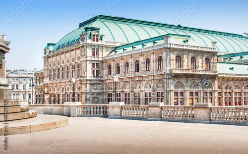Garden Poster Vienna Wiener Staatsoper (Vienna State Opera) in Vienna, Austria