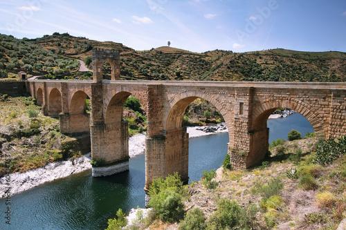 Alcantara roman bridge Wallpaper Mural
