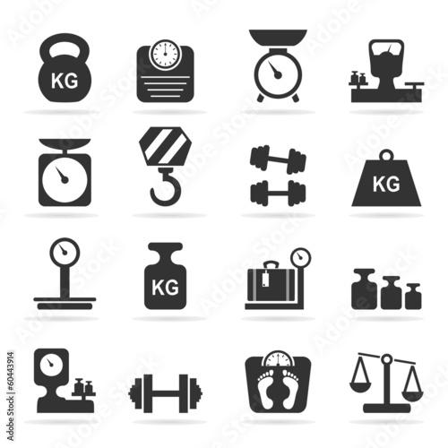 Fotografia  Scales an icon