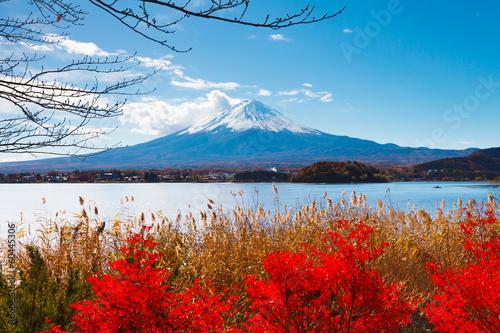 Papiers peints Japon Mt. Fuji in autumn