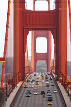 Golden Gate Brücke In San Francisco