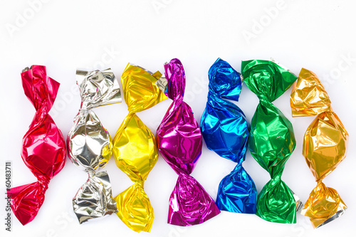 Fotografie, Obraz  Colorful Bonbons