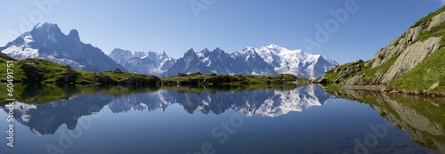 Canvas Prints Alps Mont Blanc