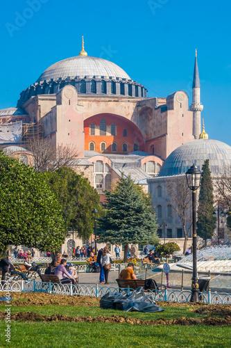 Hagia Sophia, Istanbul Fototapeta