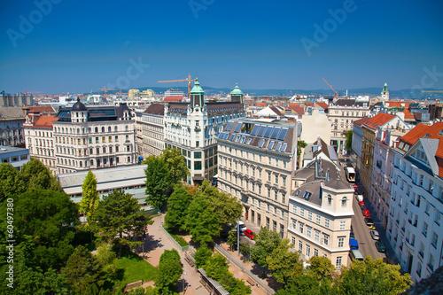 Spoed Fotobehang Wenen Vienna architecture