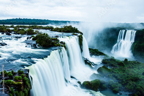 Iguassu Falls,the largest waterfalls of the world,Brazilian side