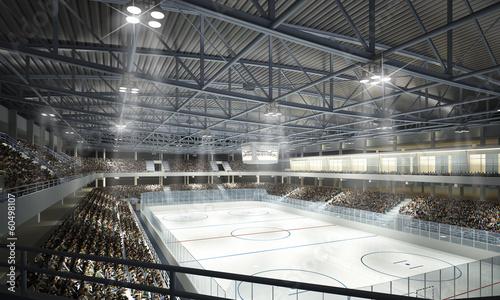 fototapeta na ścianę Eishockeyhalle