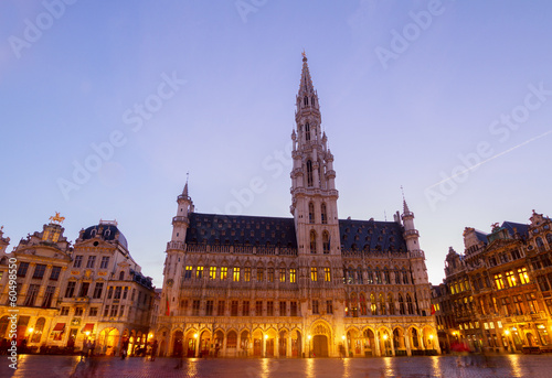 Foto op Aluminium Brussel Brussels Town Hall