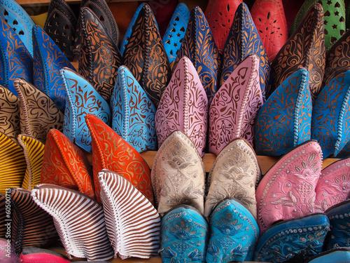 Foto op Plexiglas Marokko Colorful moroccan handmade leather shoes