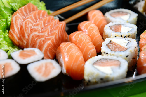 Printed kitchen splashbacks Sushi bar Japanese food - Sushi