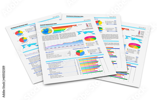 Photo  Financial reports