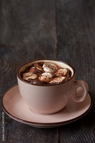 Foto op Plexiglas Chocolade Hot chocolate.