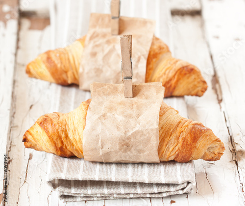 Fotografia Croissants.