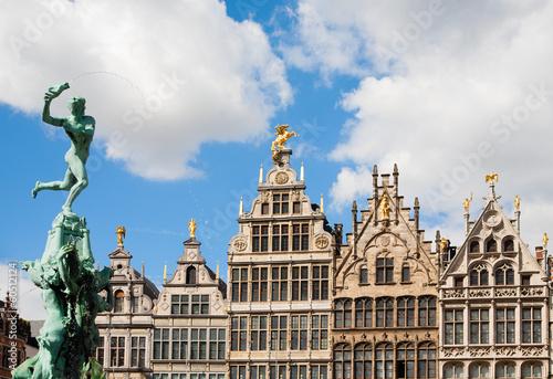 Poster Antwerp Grote Markt Antwerp