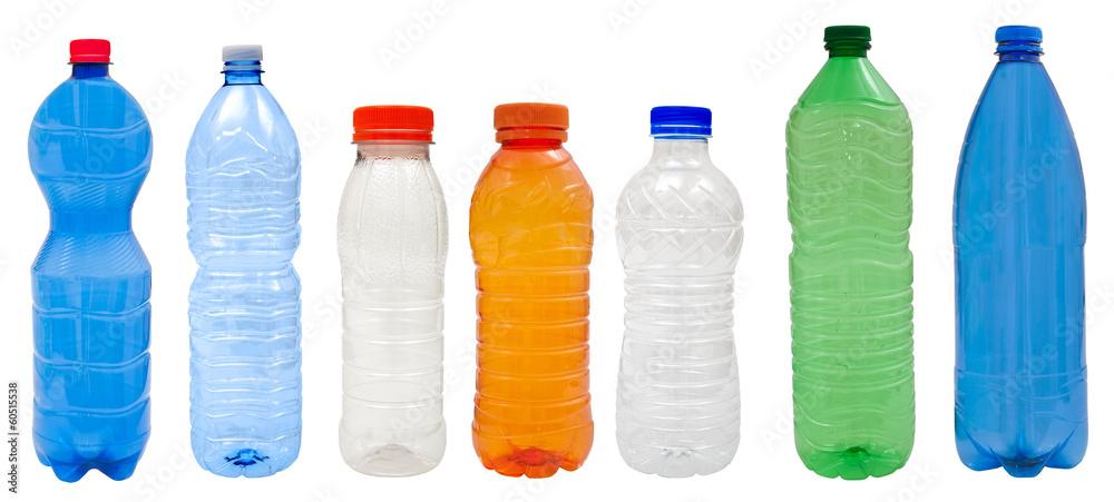 Fototapety, obrazy: Plastic bottles