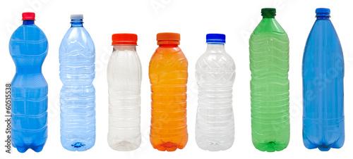 Obraz na plátne Plastic bottles