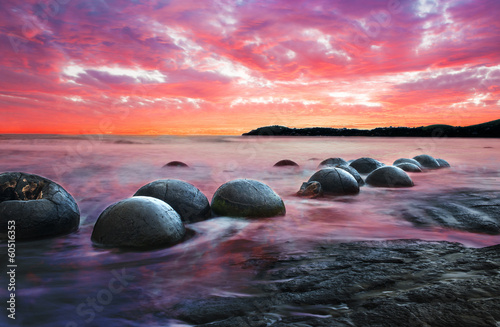 Obraz na plátne Moeraki boulders