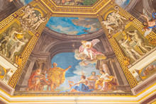 Painting On Domed Ceiling In V...