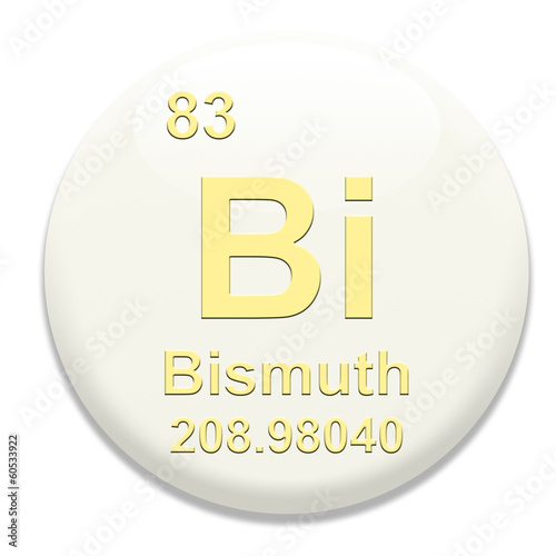 Periodic Table Bi Bismuth Buy This Stock Illustration And Explore