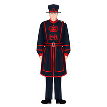 Beefeater Soldier - Yeoman War...