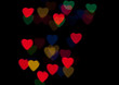 Heart Colorful Bokeh