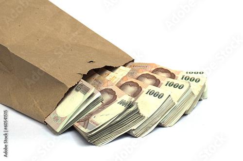 Valokuva Thousand baht banknotes