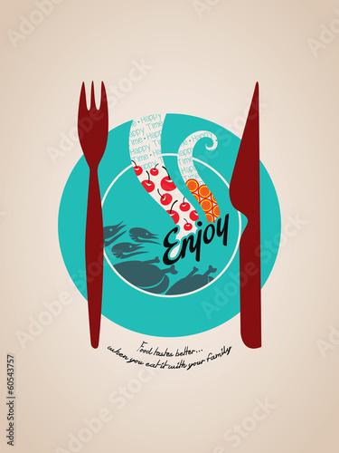 turkusowy-talerz-z-widelcem-i-nozem