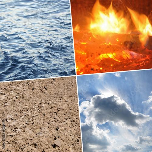 Fotografie, Obraz  four elements