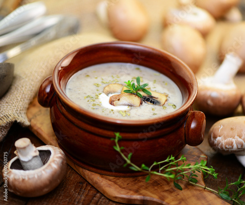 Recess Fitting Appetizer Pilzsuppe