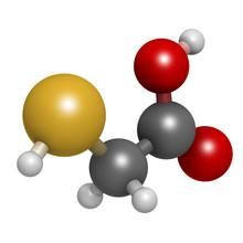 Thioglycolic Acid (TGA) Molecu...