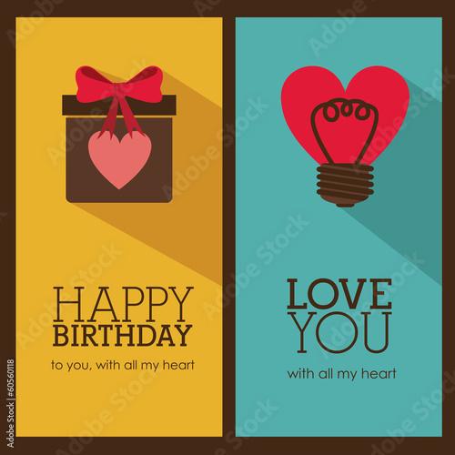 Photo  birthday design