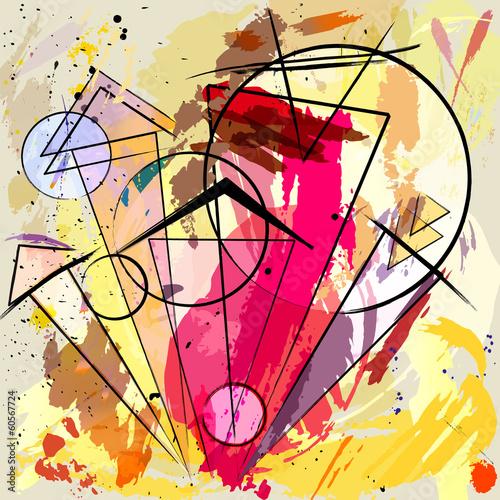 abstrakcyjne-tlo-obrys-plamy-okregi-i-trojkat