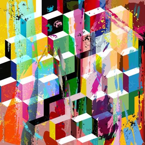 abstrakcyjna-kompozycja