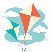 Kites And Clouds