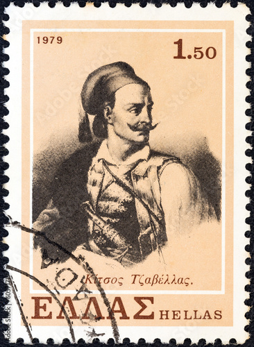 Tela  Kitsos Tsavellas (Greece 1979)