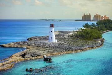 fototapeta Nassau Bahamas widok pięknej latarni