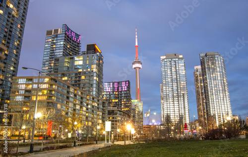Foto op Aluminium Toronto Toronto panorama,Canada
