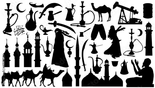 Fotografía arabian_silhouettes