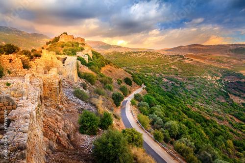 Poster Moyen-Orient Castle Nimrod