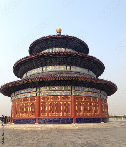 Poster Temple of heaven in Beijing