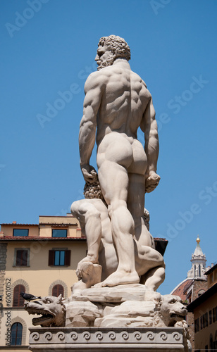 Valokuva  Statue of Hercules and Cacus in Florence