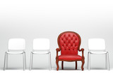 The red armchair - 60614979