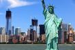 New York City - Manhattan und Freiheitsstatue