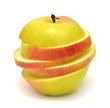 Sliced ??apple