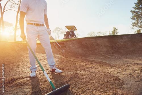 Valokuvatapetti Golf buker rake