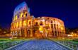 The Majestic Coliseum, Rome, Italy.