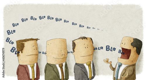 Fotografie, Obraz  Boss with employees